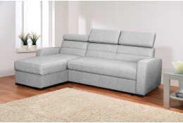 Угловой диван Виктория 2-1 с подголовниками